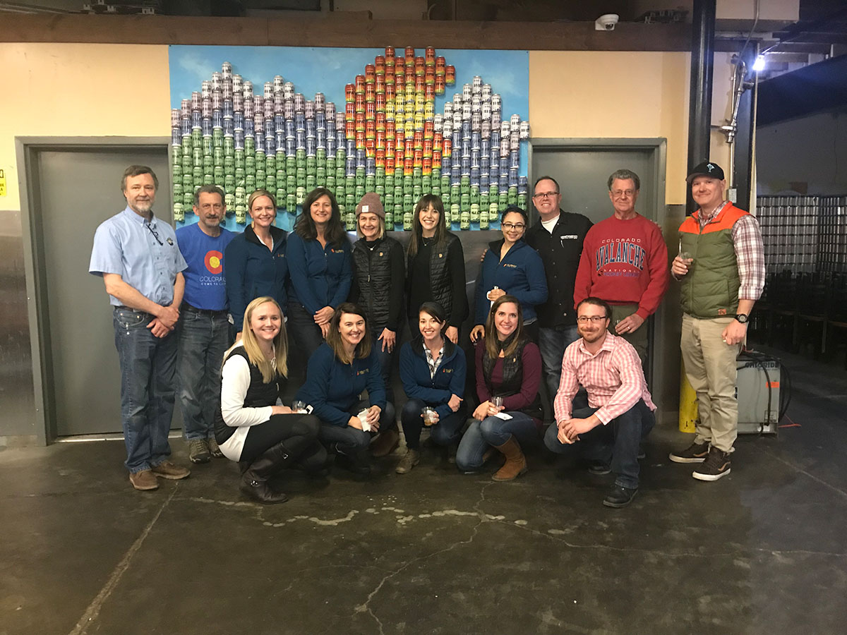 Colorado Tourism Office Visits Tommyknocker Brewery